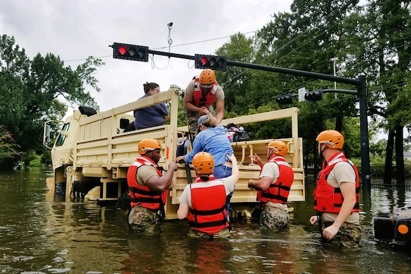 Hurricane Harvey_Texas National Guard rescue