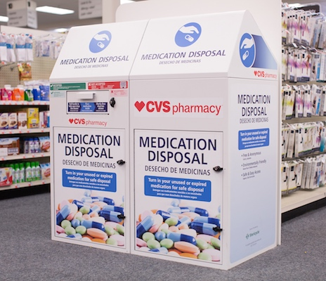 cvs rolls out drug disposal kiosks to south carolina stores cdr