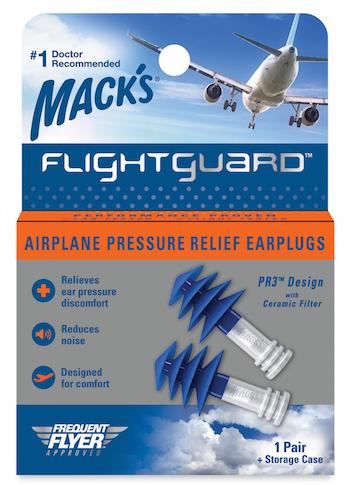 Mack's Flightguard earplugs_McKeon Products