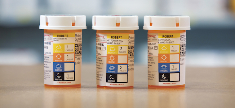 CVS ScriptPath prescription vial labels