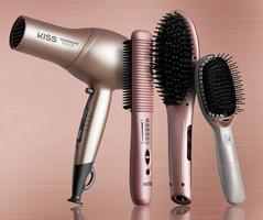 KISS Gold Edition hair tools