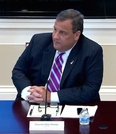 Chris Christie_President's Opioid Crisis Commission