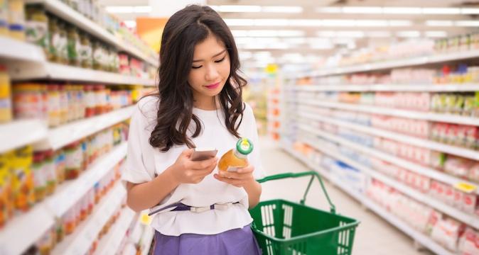 Millennial shopper