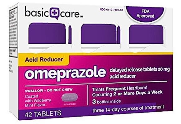 Amazon Basic Care_omeprazole tablets