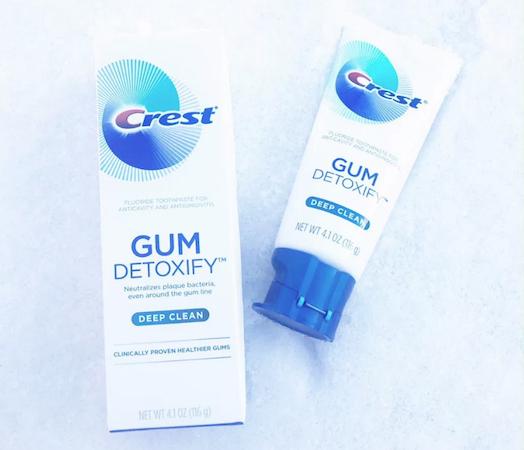 Crest Gum Detoxify