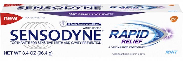 Sensodyne Rapid Relief_GSK Consumer Healthcare