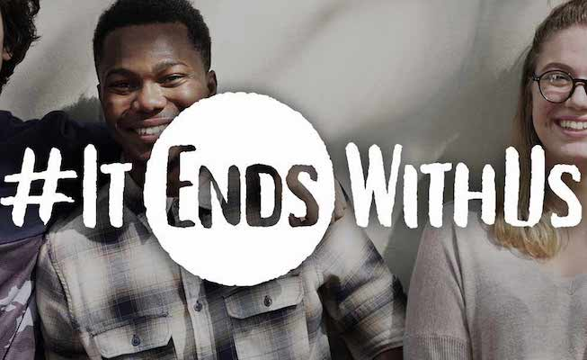 Walgreens #ItEndsWithUs campaign