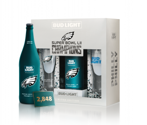 Bud Light teams up with the Philadelphia Eagles for super