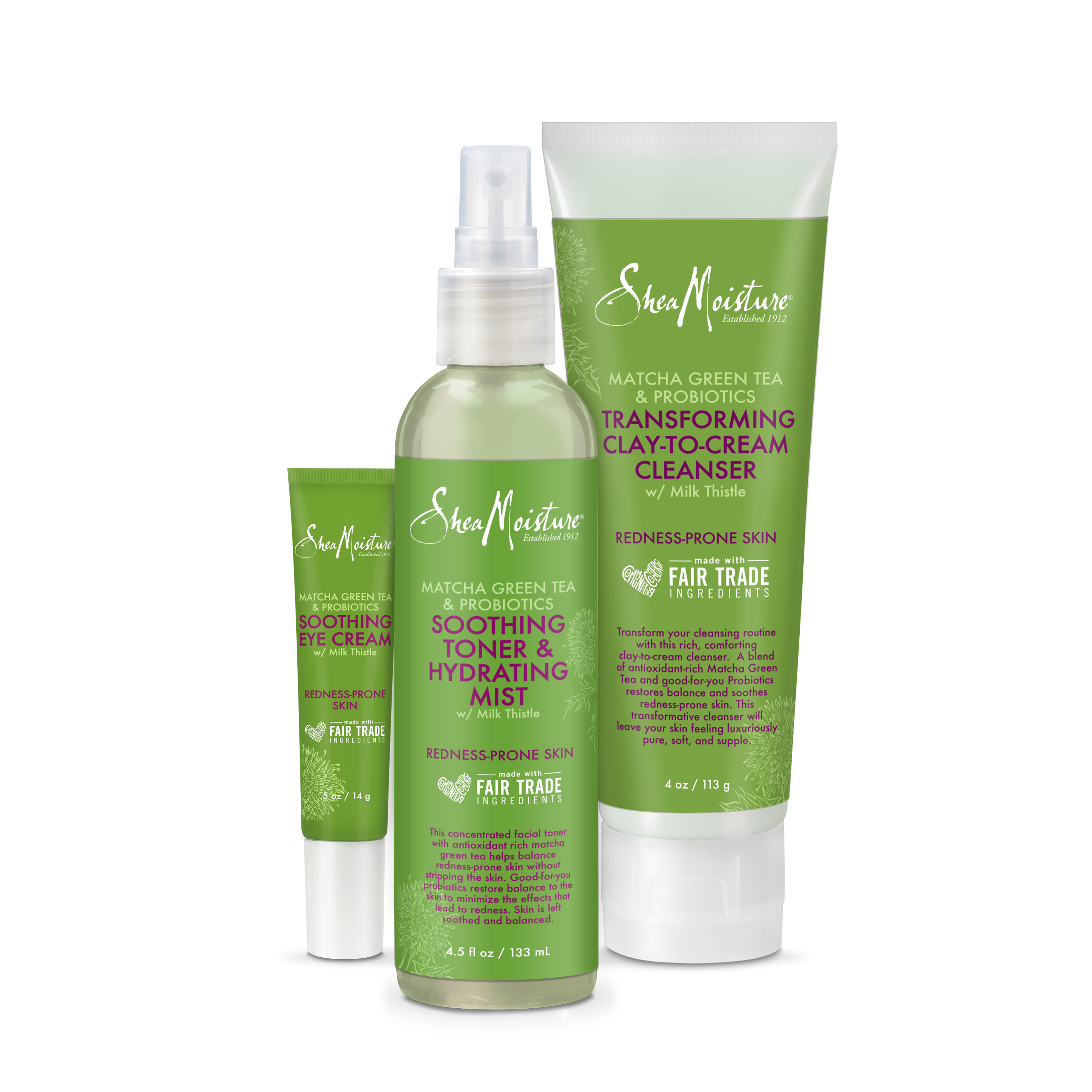 Matcha Green Tea & Probiotics Clay-To-Cream Cleanser by SheaMoisture #17